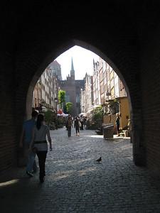 Archway in Gdansk, Poland - Lydia Osborne