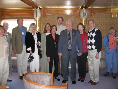 Princeton travelers with Former Polish President Lech Walesa - Lydia Osborne