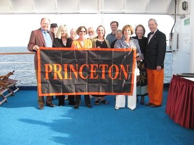 Princeton travelers on board Island Sky - Lydia Osborne