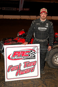 Jonathan Davenport won the PRC Fast Time Award