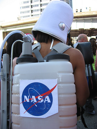 These NASA astronaut dudes filled their packs with margaritas!