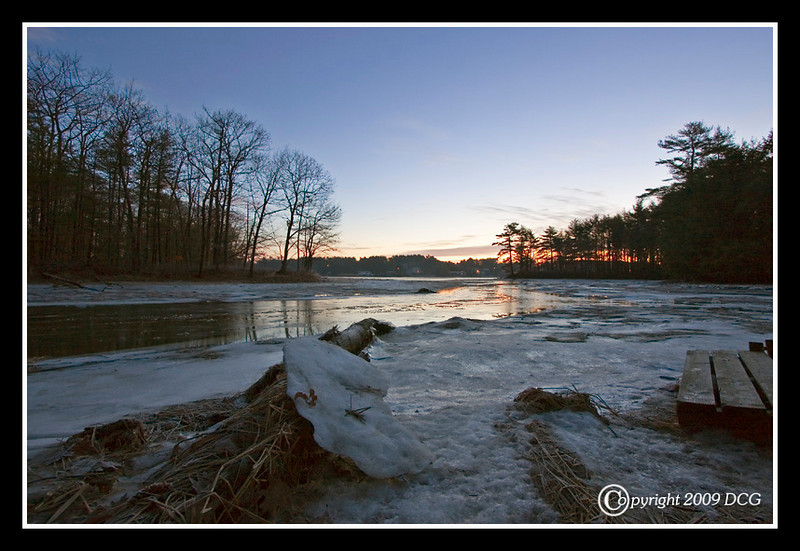 Bellamy River from Bellamy River Wildlife Sanctuary
