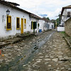 Old streets in Paraty