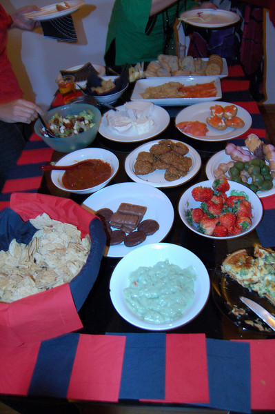 food at my house party