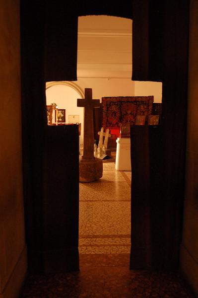 Cross at peasant museum