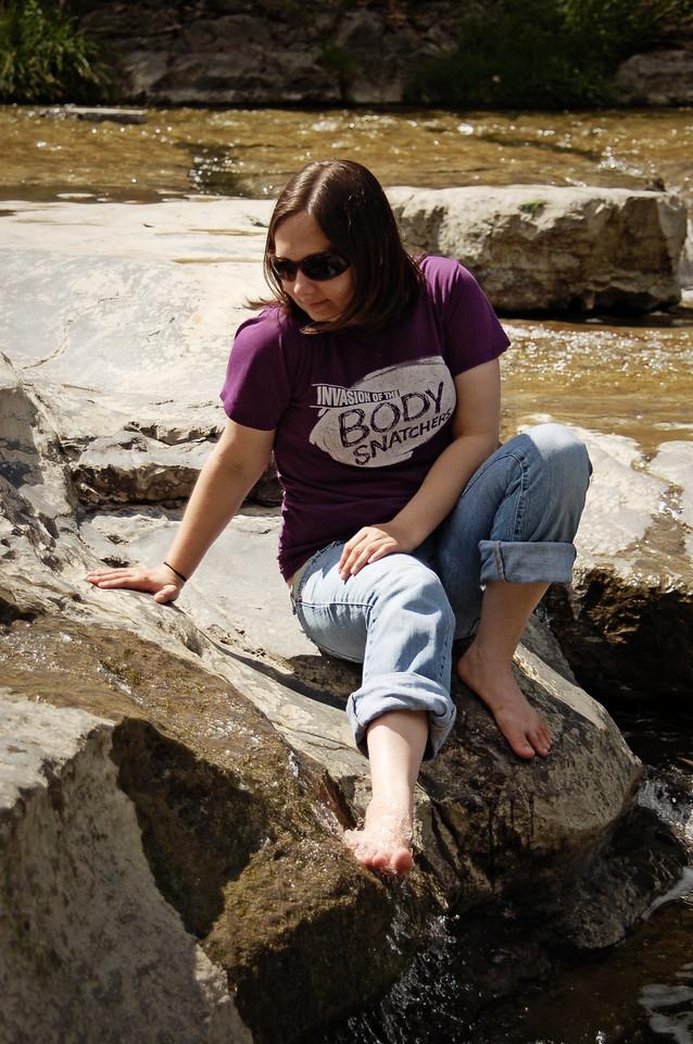 Alana on the Rocks