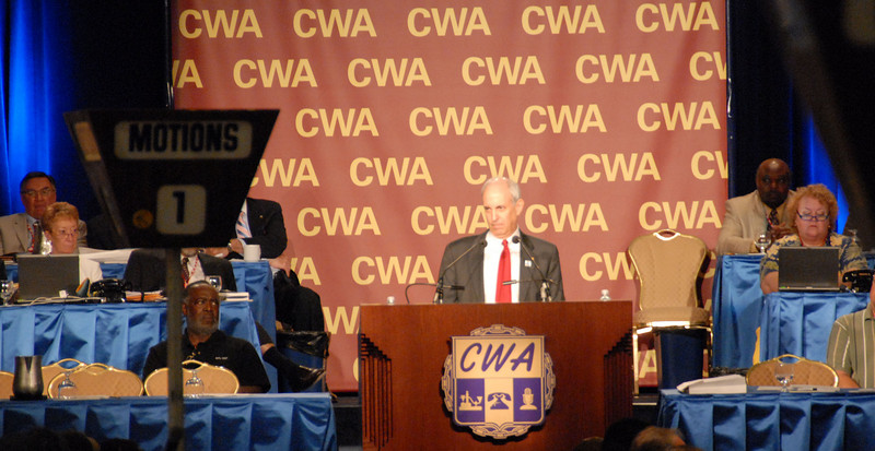 CWA President Larry Cohen