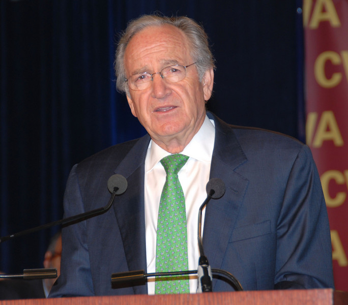 Senator Tom Harkin (D-Iowa), He pledged to do everything possible to make the Employee Free Choice Act law this summer.