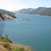 Lake Sonoma, CA - musste hier anhalten weil ich fast gekotzt habe.