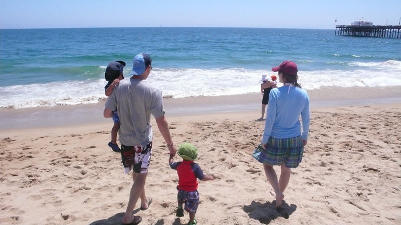First Trip to the Beach - Newport Beach, CA