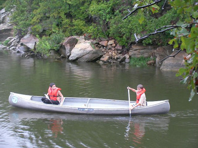 2009 Canoeing at Lake Mineral Wells