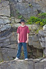 Michael at Fort Williams Park in Cape Elizabeth Maine