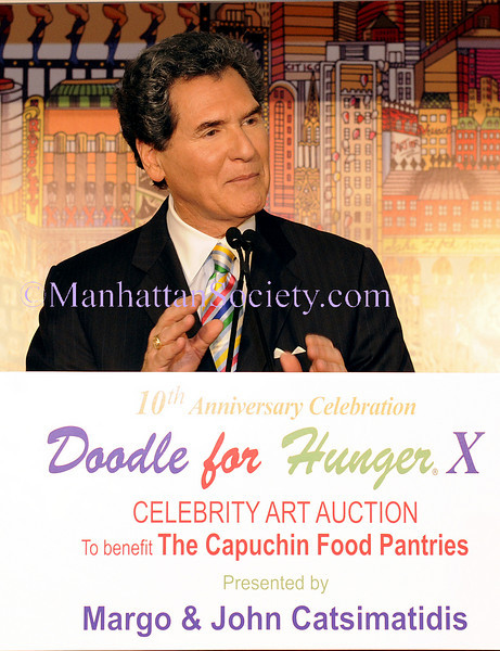 "NEW YORK-NOVEMBER 5: Arnie Anastos attends Capuchin Food Pantries' TENTH Annual Celebrity Art Auction ""Doodle For Hunger®"" hosted by FOX 5's ERNIE ANASTOS on Thursday, November 5, 2009 at Tavern on the Green, Central Park West and 67th Street, New York City, NY (Photo Credit: ©Manhattan Society.com 2009 by Christopher London)"