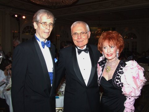 NEW YORK-MAY 19: Co-Founders of Career Bridges, David Schuyler Bender and Barbara Meister Bender with   Speight Jenkins  attend Career Bridges 7th Annual Gala Concert & Dinner on Tuesday, May 19, 2009 at Jumeirah Essex House, 160 Central Park South, New York City, NY