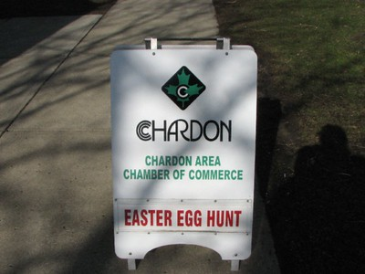 Chardon Chamber Easter Egg Hunt Fun!