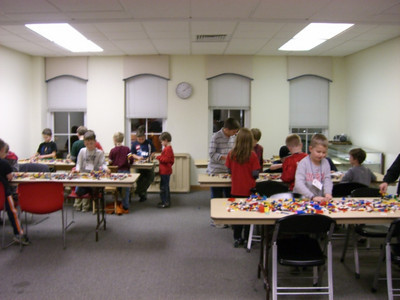 Chardon Legos Builder Club Fun!