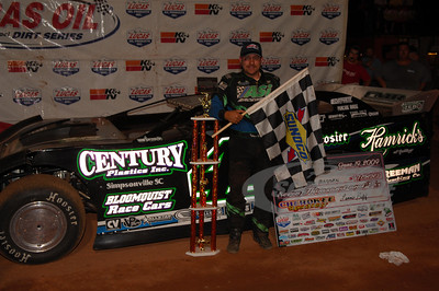 Chris Madden in Victory Lane @ Cherokee Speedway