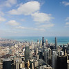 Downtown Chicago and Lake Michigan