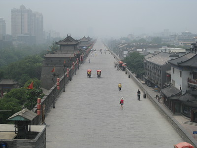 View from Bell Tower in Xian - Kimberly Collins