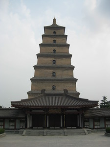Big Wild Goose Pagoda - Kimberly Collins