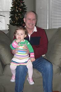 sittin' on Grandpa's knee :)