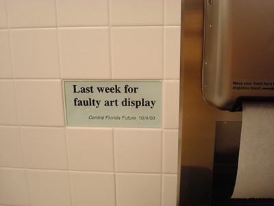 The Newseum bathroom. It amused me.