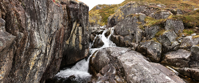 Cold granite and colder water are two of the primary elements of the environment in Hatcher Pass.
