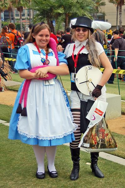 Alice & The White Rabbit