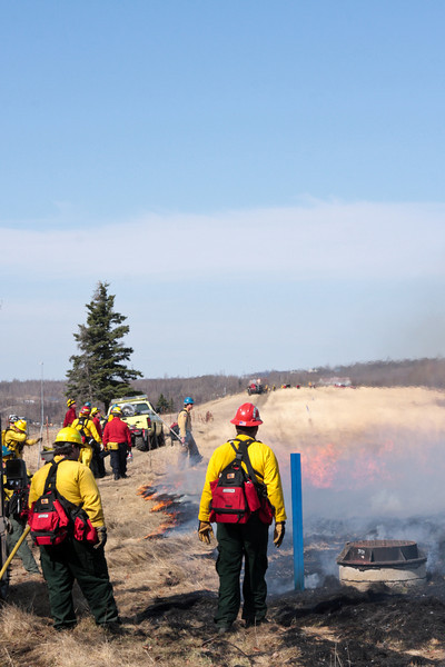 A firing operation is resource intensive, but even so we may have had more than enough firefighters.