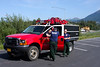 Several engines embarked from Mat-Su forestry as a group, including our Brush 62, Willow's Brush 12-1-1, and two type 3 brush trucks from Chugiak.