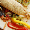 Shrimp and Corn Tamale