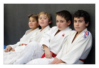 Rémi et ces amis du Judo