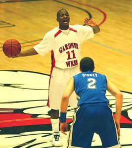 The Men's Basketball team hosted UNC-Asheville.