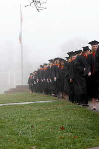 Fall Graduation Ceremony, December 14, 2009