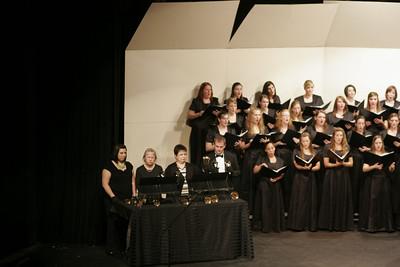 Gardner-Webb Chorus sings at the Festival of Lights