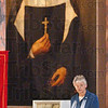 Tribune-Star file photo/Jim Avelis<br /> Watching over: Sr. Denise Wilkinson, Superior General of the Sisters of Providence, reads the homily at the Canonization Celebration ceremony Sunday, Oct. 22, 2006 at St. Mary-of-the-Woods.