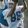 Tribune-Star file photo/Joseph C. Garza<br /> Within reach: Former Indianapolis Colts wide receiver Marvin Harrison reaches for a pass from quarterback Jim Sorgi as a teammate tries to block the catch Thursday, Aug. 14, 2008 at Rose-Hulman.