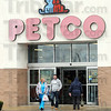 Closing: Customers emerge from the Petco store Wednesday afternoon. The store will close after Jan. 16th.