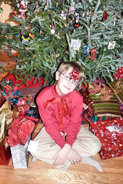Anthony on Christmas Eve