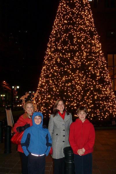 Nonna, Elizabeth and the boys