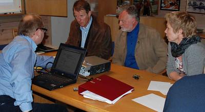 Møteforberedelser: Svenn Erik, Knut, Svein Åge og Kirsti