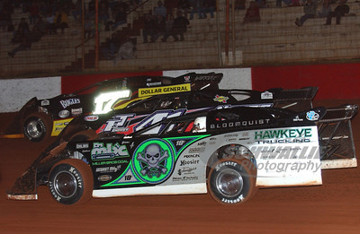 0 Scott Bloomquist, 41 Brad Neat and 17m Dale McDowell