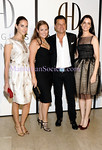 NEW YORK-SEPTEMBER 14: Dalia Oberlander, Gillian Hearst-Simonds, Douglas Hannant, Annie Churchill attend Douglas Hannant's Spring 2010 Collection Presentation and Boutique Opening on Monday, September 14, 2009 at  The Terrace Room at The Plaza Hotel, Fifth Avenue at Central Park South, NY. (Photo Credit: ©Manhattan Society.com 2009 by Christopher London)
