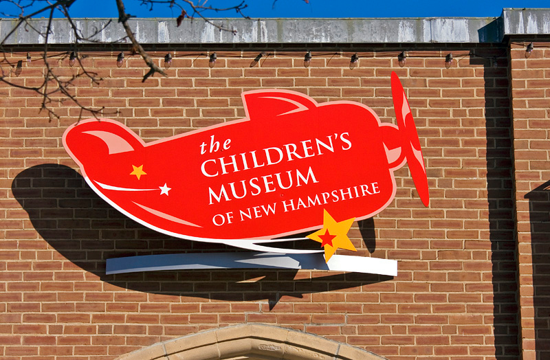 Childrens Museum of New Hampshire Sign