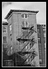 Fire Escape on side of Mill Building