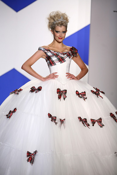 """Miss Scotland, Stephanie Williemse attends the """"Dressed To Kilt"""" Charity Fashion Show benefiting Friends Of Scotland on Monday, March 30, 2009 at M2 Ultra Lounge, 530 West 28th Street, New York City, NY (Photo Credit: Lloyd Bishop)"""