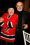 """Actor Mike Myers, Actor Sir Sean Connery attend  """"Dressed To Kilt"""" Charity Fashion Show benefiting Friends Of Scotland on Monday, March 30, 2009 at M2 Ultra Lounge, 530 West 28th Street, New York City, NY (Photo Credit: Lloyd Bishop)"""