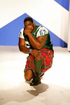 """Damien Woody of the New York Jets attends """"Dressed To Kilt"""" Charity Fashion Show benefiting Friends Of Scotland on Monday, March 30, 2009 at M2 Ultra Lounge, 530 West 28th Street, New York City, NY (Photo Credit: Lloyd Bishop)"""