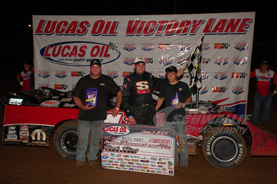 Brad Neat in Victory Lane @ Duck River Speedway
