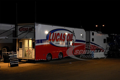 Lucas Oil Late Model Dirt Series truck by 5150 Race Trailers